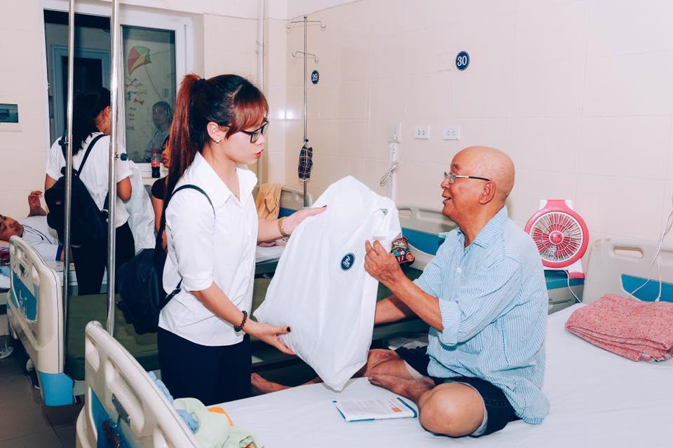 Chương trình từ thiện tại bệnh viện K cơ sở 3 Tân Triều – Thanh Trì